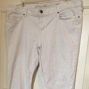 Eddie Bauer Super Comfy Skinny Ankle Jeans